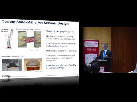 """CTBUH 2012 Shanghai Congress - Christopoulos, """"Coupling Damper System for Enhanced Performance"""""""