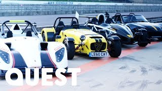 Racing The Zenos E10R, Radical SR1, Caterham 620R & Ariel Atom 3.5R | Fifth Gear