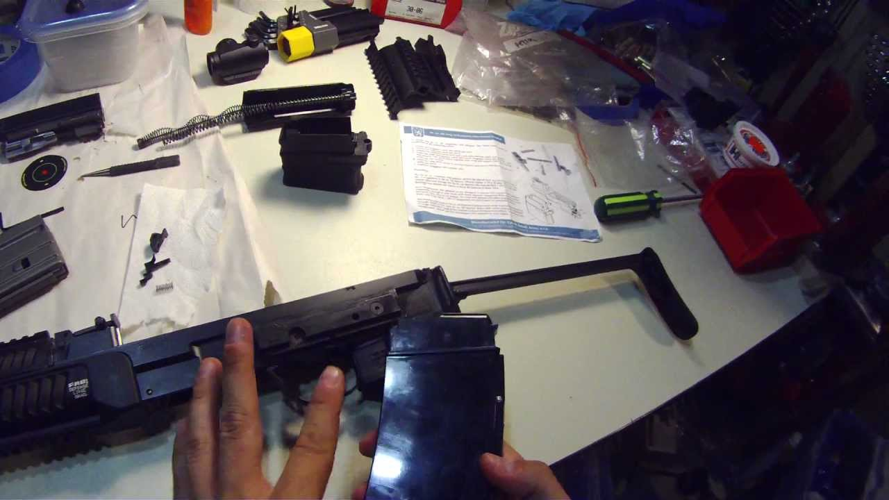 VZ 58: Installing AR-15 mag well adapter by FirearmActive