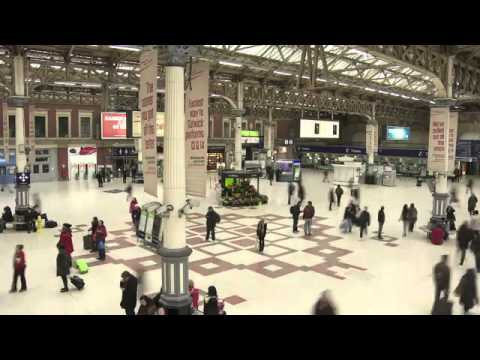 Sexy Lynx Augmented Reality Ad Brings Victoria Station To Life.