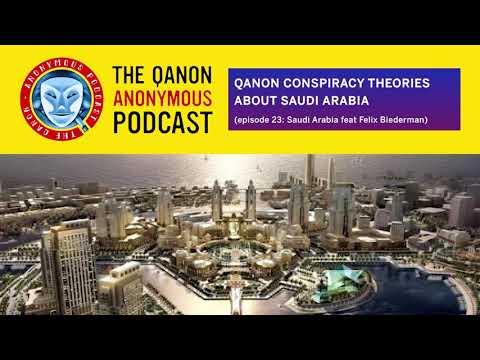 QAnon Conspiracy Theories About Saudi Arabia