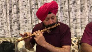 ACHYUTAM KESHVAM TUNE ON FLUTE BY Baljinder Singh BALLU FLUTE