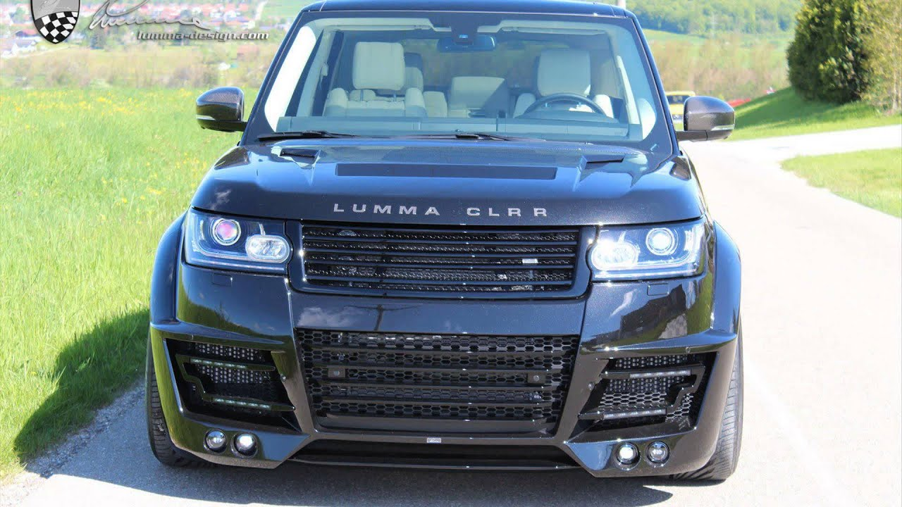 Range Rover Lumma Clrr Black Youtube