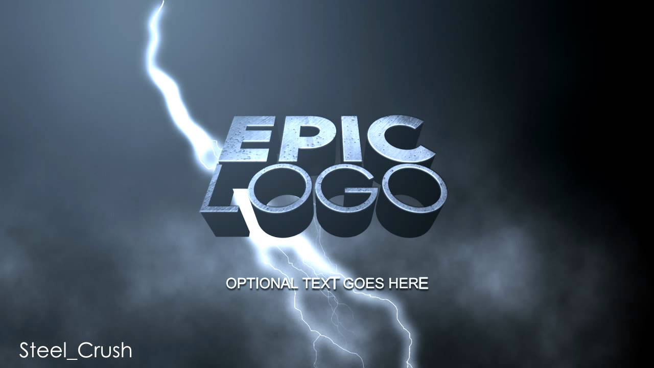 EPIC Logo Animation After Effects Template YouTube - Logo animation after effects template