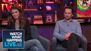 matthew rhys drunkenly asked for keri russells number wwhl
