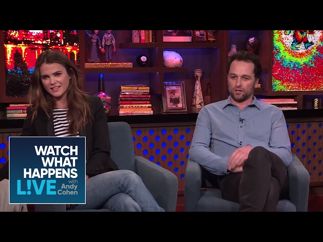 Matthew Rhys Drunkenly Asked For Keri Russell's Number | WWHL