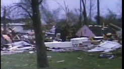 Hometown, IL 1967 Tornado aftermath - 50 years later
