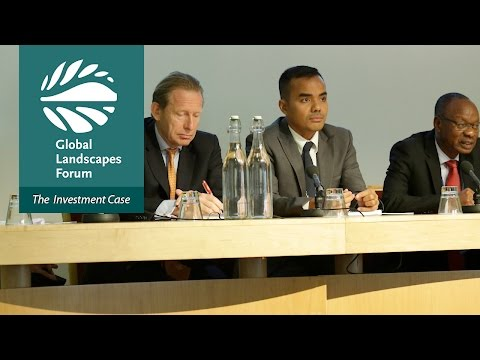 Opening plenary – Global Landscapes Forum 2016