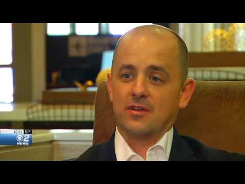 Election 2016: Evan McMullin campaigns in Boise