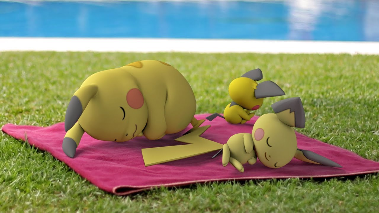 Repeat Pikachu Pichu In Real Life The World Of Pokémon 3d