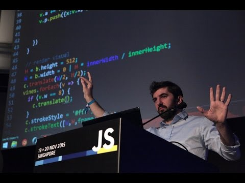 Mathieu 'p01' Henri: Making Realtime Audio-Visuals - JSConf.Asia 2015