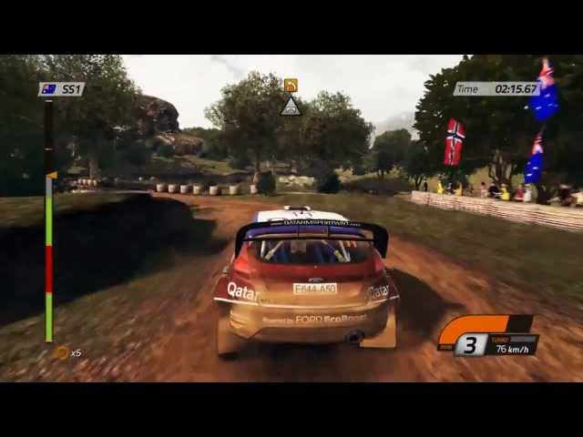 WRC 4 Official Gameplay Trailer 3