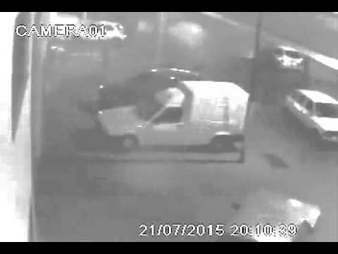 Filmaron a un conductor cuando atropelló a una nena en Las Heras y luego huyó