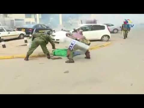 #Kenya - Outrageous police brutality we all need to condemn!