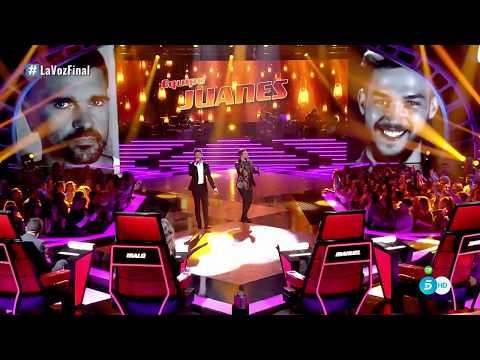 """Equipo Juanes: """"Es Por Ti"""" – Gran Final - La Voz 2017"""