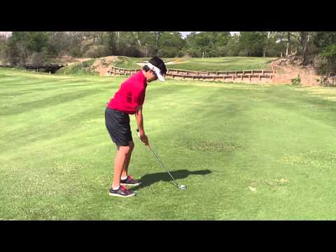 Philip Delisi Golf Swing at age 14 Wedge