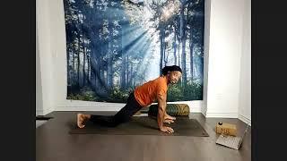 Yin yoga with Matthew Bonas