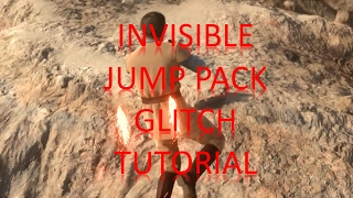 Star Wars Battlefront | How To Get An Invisible Jump Pack | Double Luke SkyWalker Action Included!