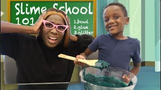 Sending Super Siah To Slime School!