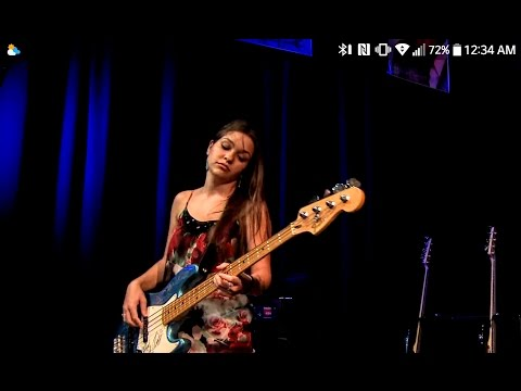 Bassist SAM JOHNSON -  Sad Sam Blues Jam