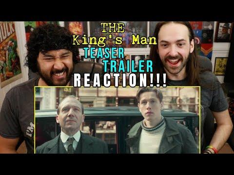 THE KING'S MAN   Teaser TRAILER - REACTION!!! (Kingsman Prequel)