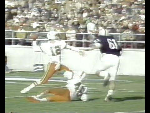 Jim Kelly - Miami vs. Penn State 1979