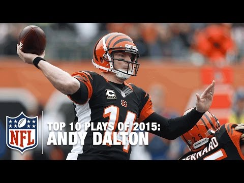 Top 10 Andy Dalton Plays of 2015 | NFL