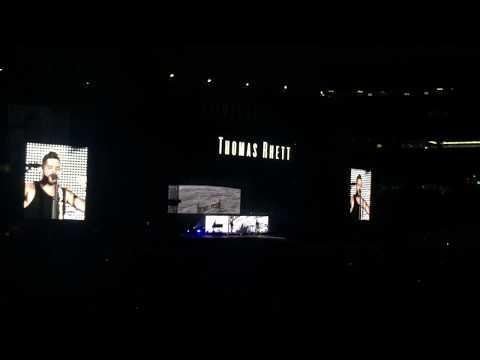 "Thomas Rhett ""Star of the Show"" @ Country Fest - Gillette Stadium in Foxborough, MA 8/25/17"