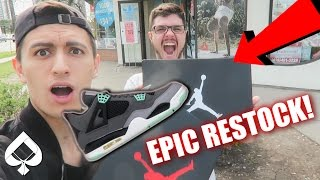 AIR JORDAN RESTOCK VLOG! WE BOUGHT 3 PAIRS!! (HEAT ALERT)