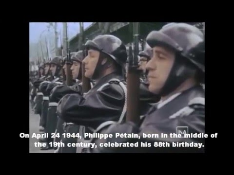 France in 1944: Occupation, Collaboration, Resistance, Liberation ENGLISH SUBTITLES
