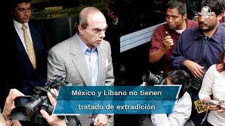 La periodista Lydia Cacho informa que el empresario fue arrestado y que ella ya testificó ante las autoridades libanesas. No será juzgado en México