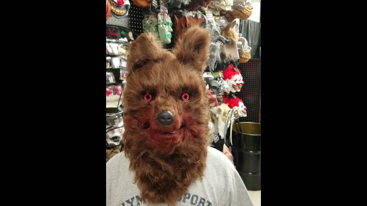 Werewolf Moving Mouth Mask #spirithalloween - YouTube