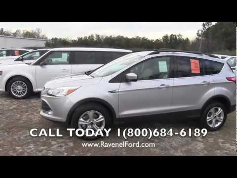 2013 ford escape se review video myford touch ingot silver 98 over invoice ravenel ford. Black Bedroom Furniture Sets. Home Design Ideas