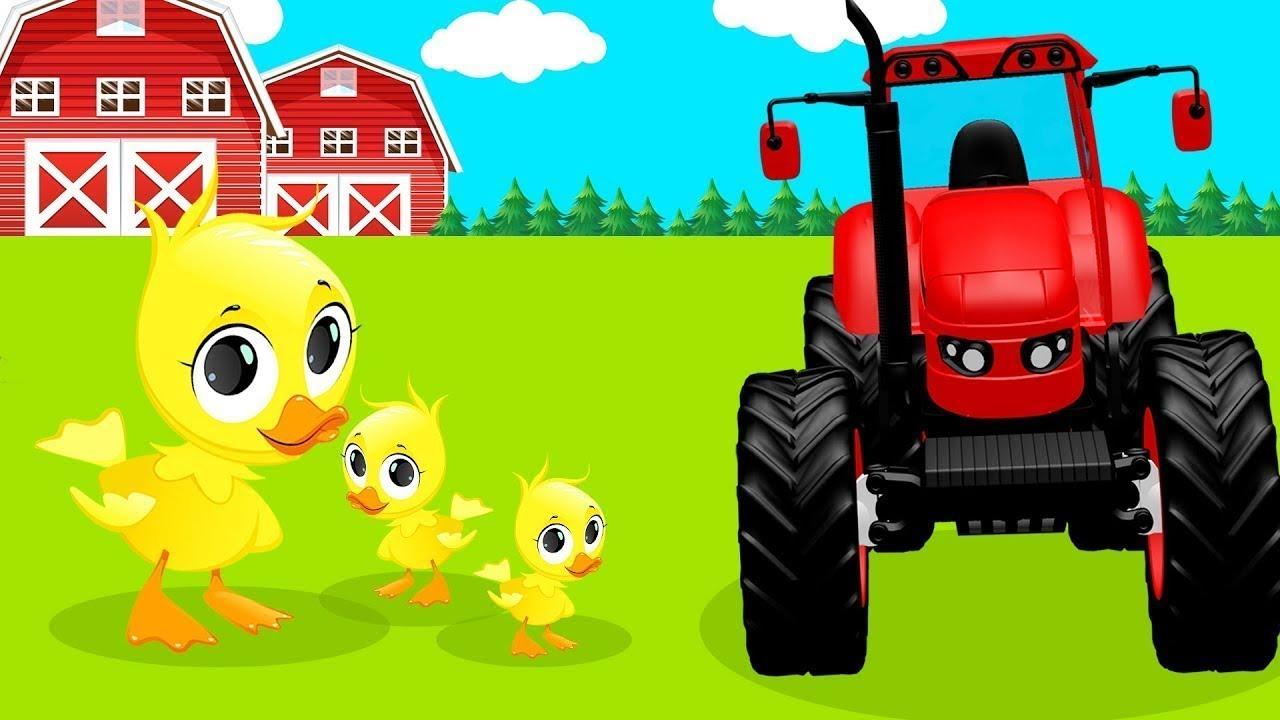 Синий трактор - Трактор Гоша - Мультики про машинки - Все ...
