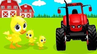 Синий трактор - Трактор Гоша - Мультики про машинки - Все серии подряд