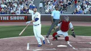 MLB 14: The Show (PS4) Cubs vs Cardinals Full Game