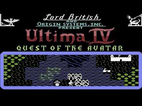 Ultima IV: Quest of the Avatar (Commodore 64 intro)