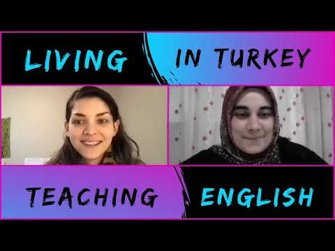 Teaching English In TURKEY❤️🌍🇹🇷🇺🇲| Real English Conversation With My American Teacher - Part II