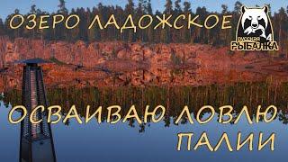 Русская рыбалка 4 Озеро Ладожское Фарм Спиннинг Джиг Техасская оснастка