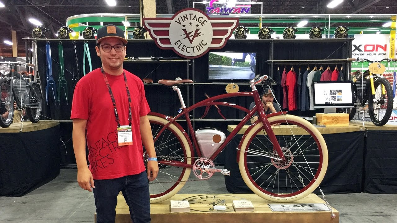 2017 Vintage Electric Bike Updates From Interbike  Cafe