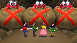 Mario Party 6 MiniGames - Mario Vs Luigi Vs Peach Vs Toad (Master Cpu)
