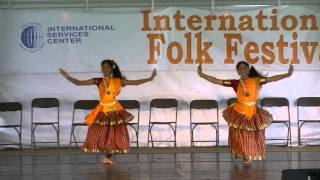 Southern India mountain folk dance