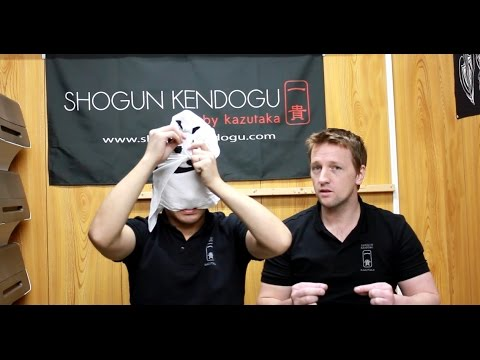 A Different Method Of Tying Your Tenugui