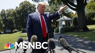 Donald Trump Claims There Is 'Zero Strategy' To Criticism Of Rep. Elijah Cummings | MSNBC
