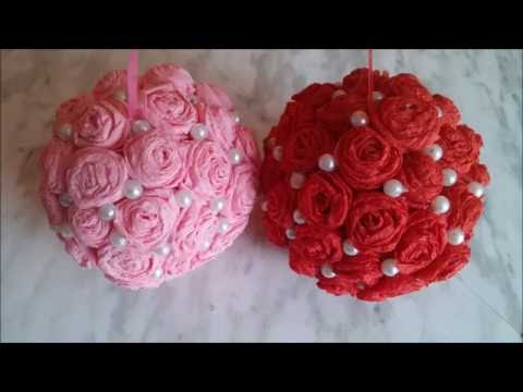 How To Make Decorative Balls Amusing Decorative Flower Ballshow To Make Wedding Pomander Flower Ball Design Inspiration