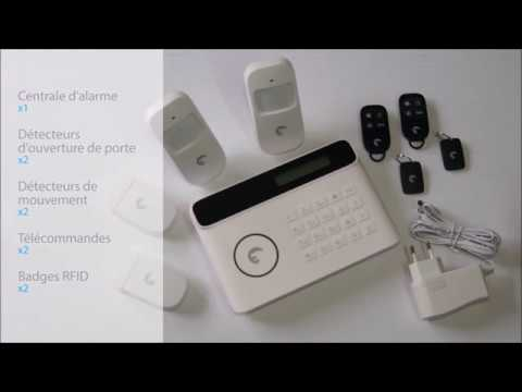 installation alarme maison gsm rtc etiger présentée par www.alloalarme.fr
