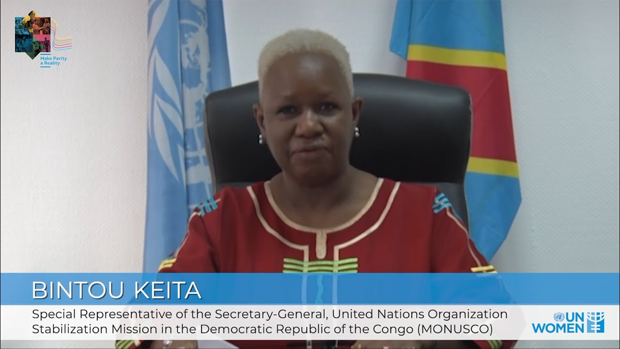 Making Parity a Reality in the UN | SRSG Bintou Keita  - نشر قبل 9 ساعة