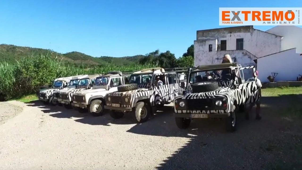 Algarve Jeep Safari Hd Extremo Ambiente Youtube