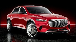 New Vision Mercedes-Maybach Ultimate Luxury - 2021 S-class w223  design concept