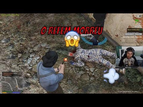 Sequestramos e matamos um refem - FiveM Roleplay GTA V